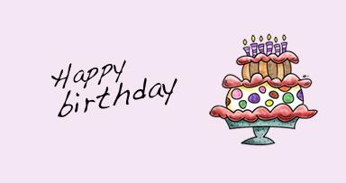 Célébrez votre anniversaire